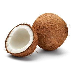 Coconut, main ingredient of this ice cream
